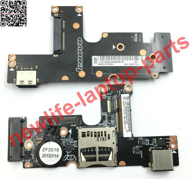 ФОТО original for Yoga13 series Yoga13-2191 USB SSD board 4551-500011-01 tested fully free shipping