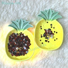 Creative Cute Mini Pineapple Home Small Dish Ceramic Soy Sauce Household Items Practical Gift Spiatti