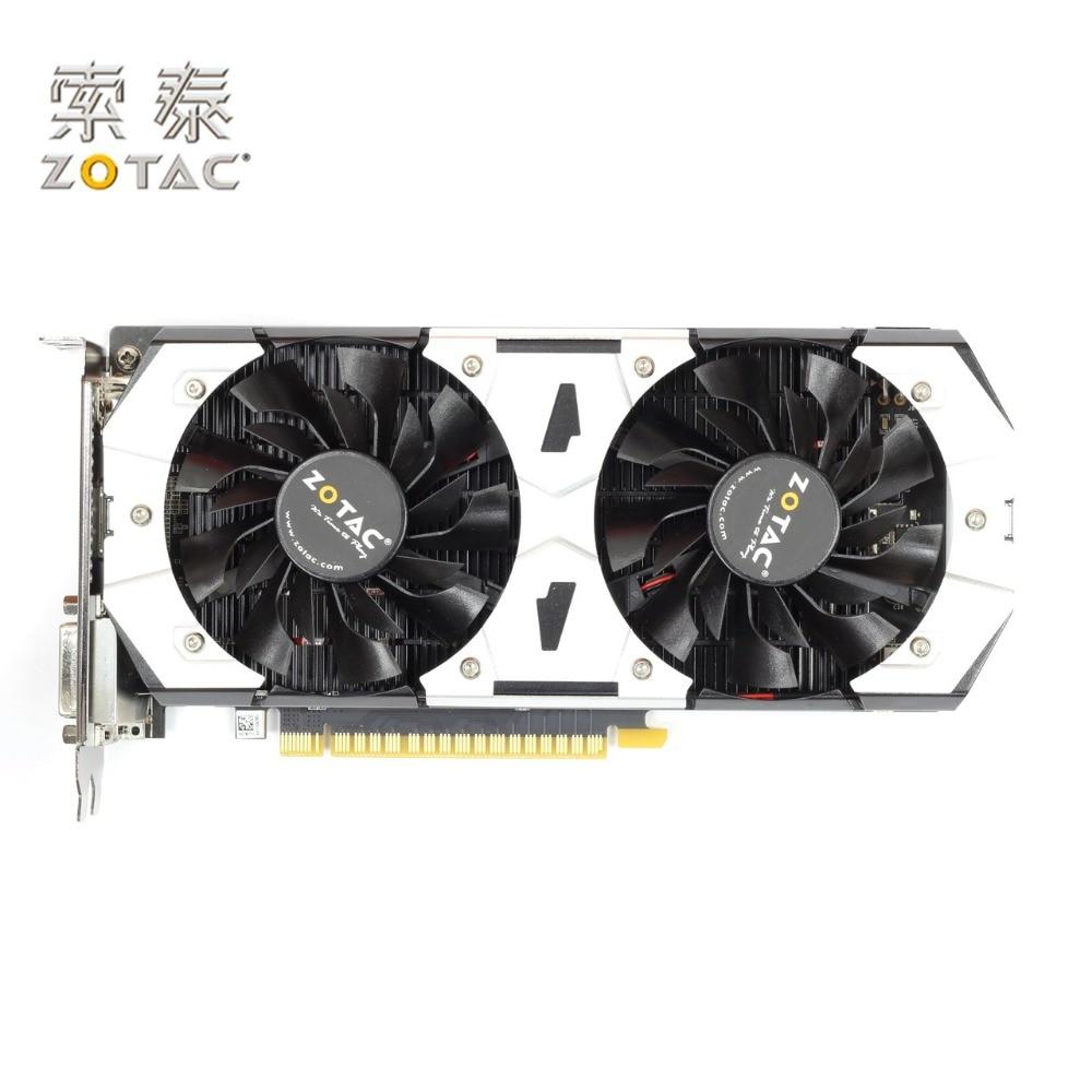 Original ZOTAC GeForce GTX 750-1GD5 Graphics Cards HA For NVIDIA GT700 GeForce GTX 750 1G Video Card 128bit GDDR5 Used GTX750 yeston sound free nvidia gt710 1g video card ultra hd gt710 1g ddr3 graphics card for desktop 2 years warranty