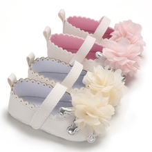 Brand PU Leather Shoes Baby Boy Girl Baby Casual Shoes  Flower Fringe