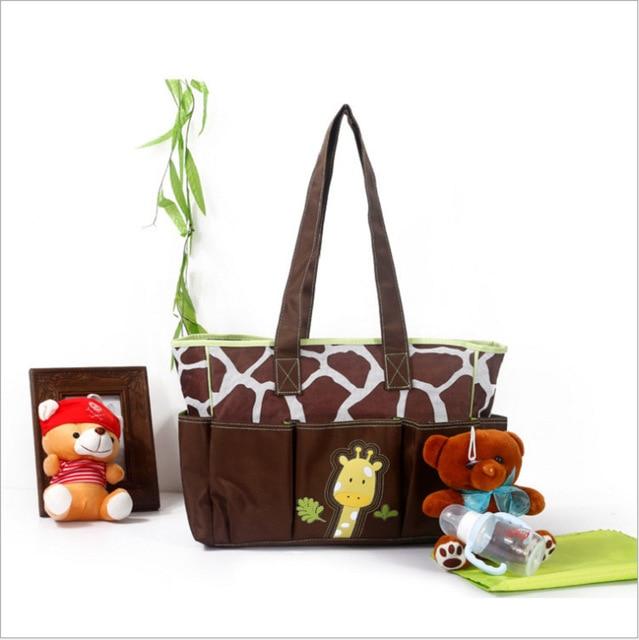 Multifunction mummy bag mother bag multi- pocket cartoon pattern baby diaper nappy bag handbags shoulder bag