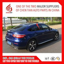 Высококачественный алюминиевый сплав боковой направляющей Бар Багажник На Крышу для GLC GLC200 GLC260 GLC300 Coupe 2016 2017
