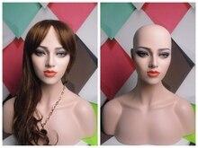 Fiberglas Weibliche Perücke Schaufensterpuppe Kopf, Versendet Durch EMS