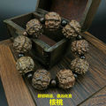 Black sandalwood carving Hickory nut beads Tibetan Buddhism Amulet Bracelet