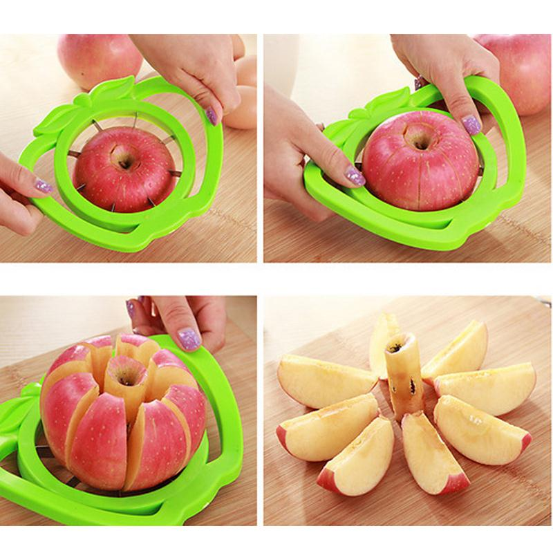 Apple Cutter Knife Dicing Corers Fruit Vegetable Slicer Kitchen Accessories Gadget Multi-function Cooking Tool Shredders