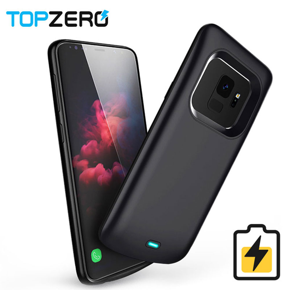 Battery Charger Case For Samsung Galaxy S9 S8 Plus Soft TPU Charging Phone Power Cover For Samsung Note 8 Note 9 Battery Case