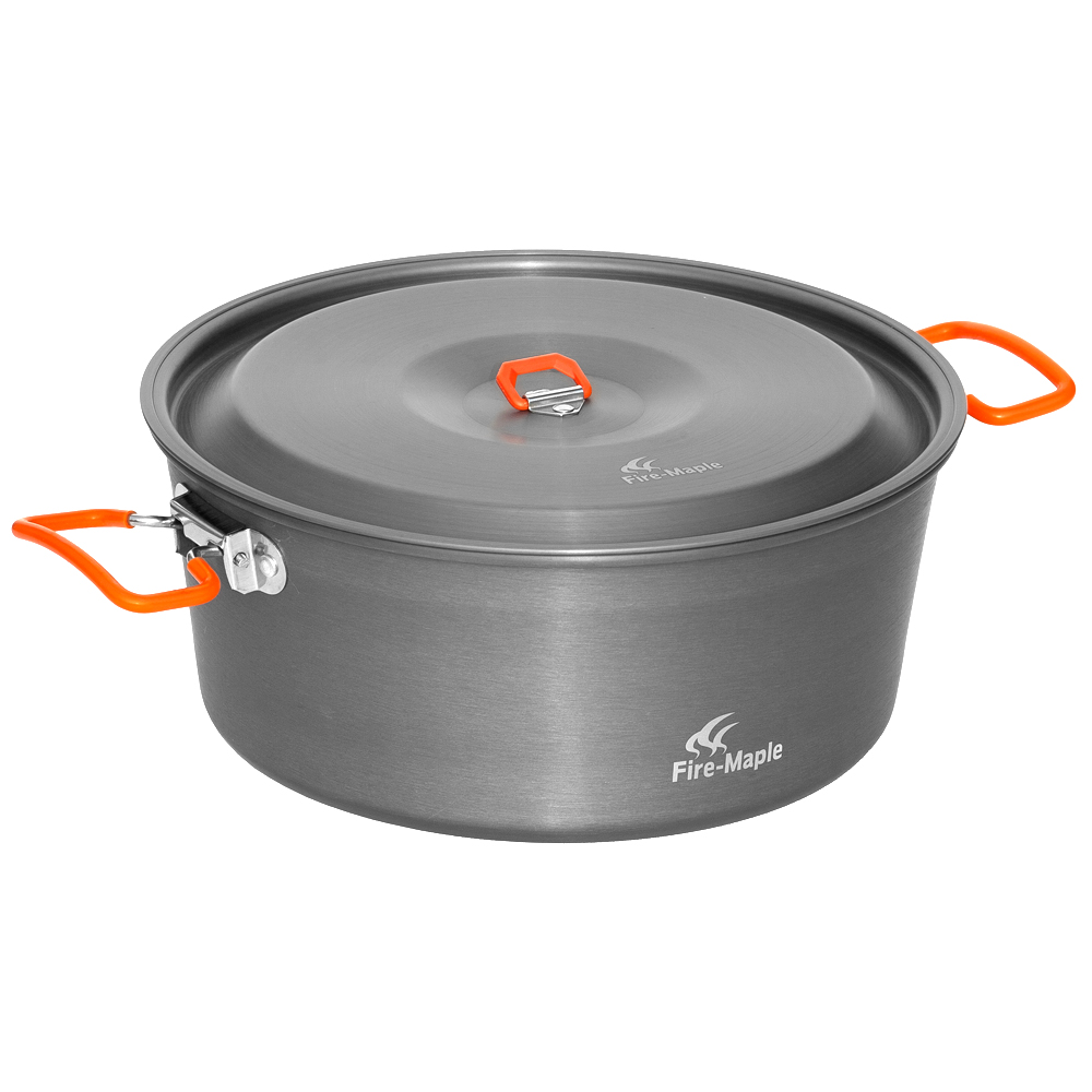 Fire maple Feast hotpot Outdoor hotpot cauldron family outdoor picnic pot shabu-shabu beggar s feast