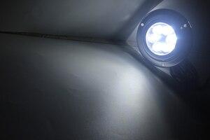 Image 5 - 12V הימי יאכטה LED מתחת למים אור עמיד למים נירוסטה נוף מנורה לבן/כחול סירת אביזרים
