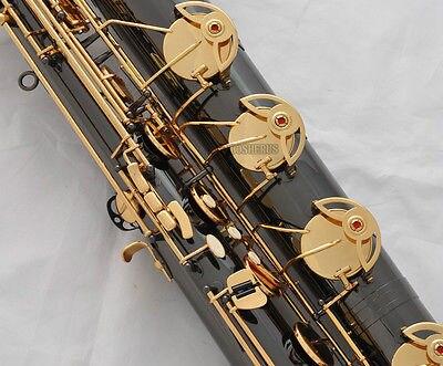 Professional Taishan Baritone saxophone Black Nickel Gold Eb