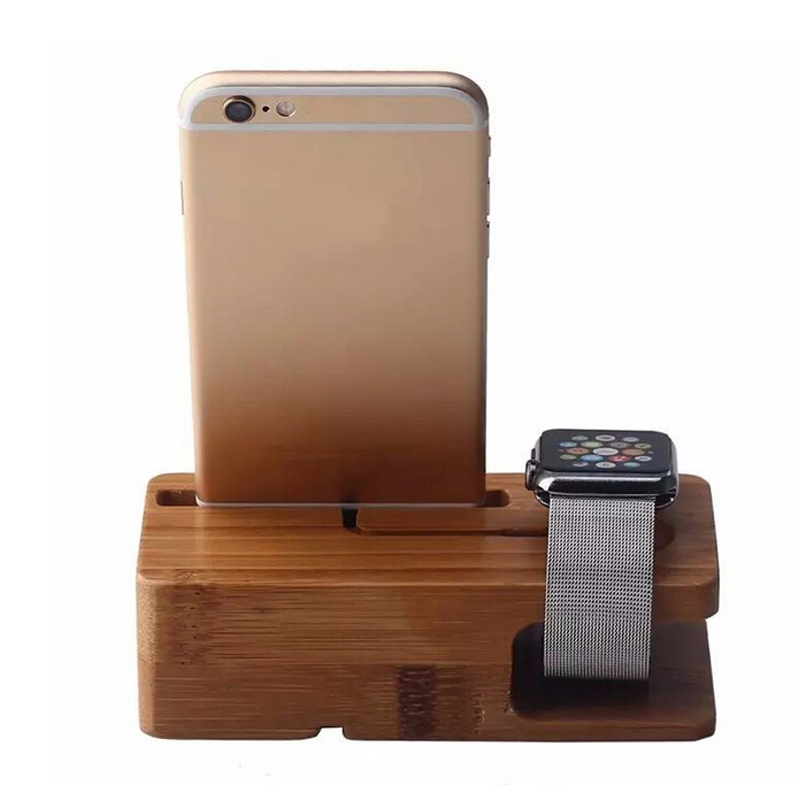 YASOKO Portable Universal Wooden Phone Holder Stand for iPhone Office Desk Home Table for cellphone Holder free shipping