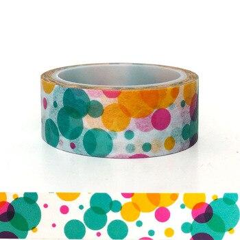 20pcs/set Dream Color Ring Bubble DIY Decorative Sticker Handbook and Paper Tape coggins woodturner s handbook paper only