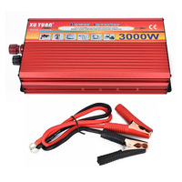 Portable Car Inverter DC 12V To AC 220V 3000W Car Charger Power Inverter Supply Converter Adapter With Double Universal Socket