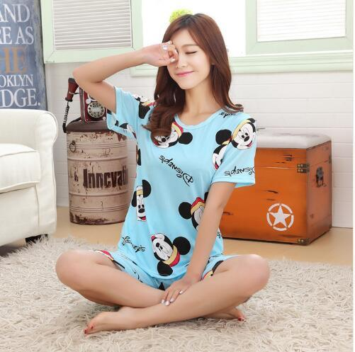 cute pajama sets 2017 pajamas for sleeved summer 30809