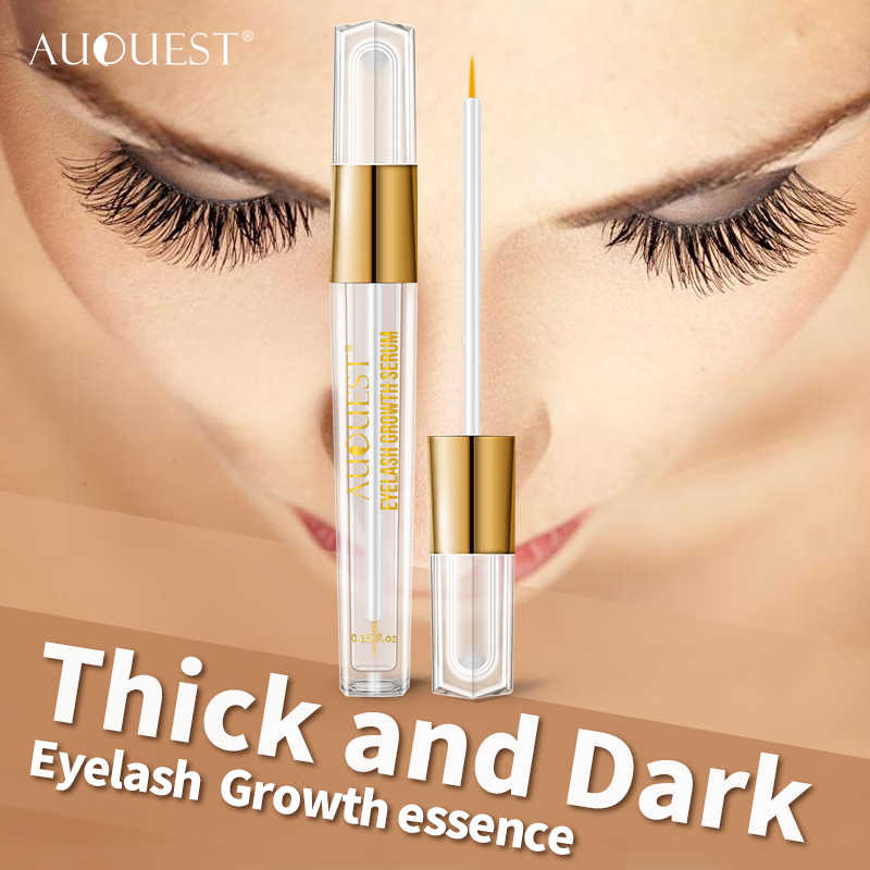 3402469e470 ... AuQuest Natural Eyelash Growth Serum Fuller Darker Longer Lashes  Extensions Eyelash Enhancer Lash Essence Lasher Beauty ...