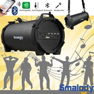Image 3 - Bluetooth 4.0 kablosuz hoparlör 6 saat müzik HandsFree 8W büyük güç hoparlör dahili mikrofon 3.5mm ses şarj edilebilir pil