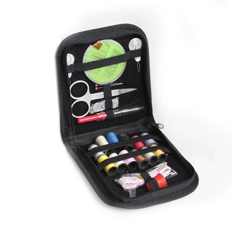 LikeSshopping  Embroidery Sewing Kit for Home Travel  Emergencies Filled with Quality Notions Scissor  Thread Great Gift