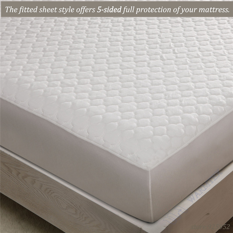 100% Waterproof best selling Customized beautiful jacquard cloth waterproof mattress cover/mattress protector 200x200cm A