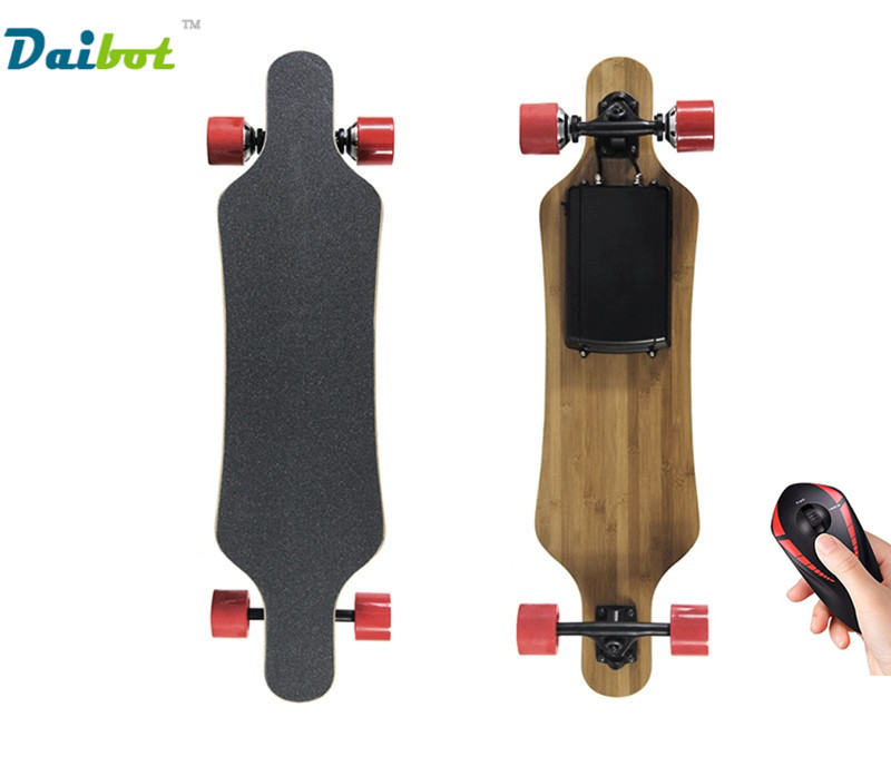 No Tax Four Wheels Electric Skateboard Scooter 300W Replaceable Hub Motor with Wireless Bluetooth Remote Controller Longboard 10 500w 48v electric motor skateboard electric scooter spare parts electric self balancing scooter parts electric hub motor
