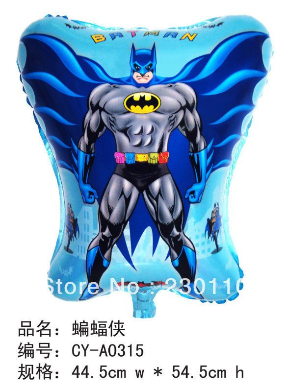 5s film balloons, helium balloons , children's toys Batman Superman - Happy Balloon Family store