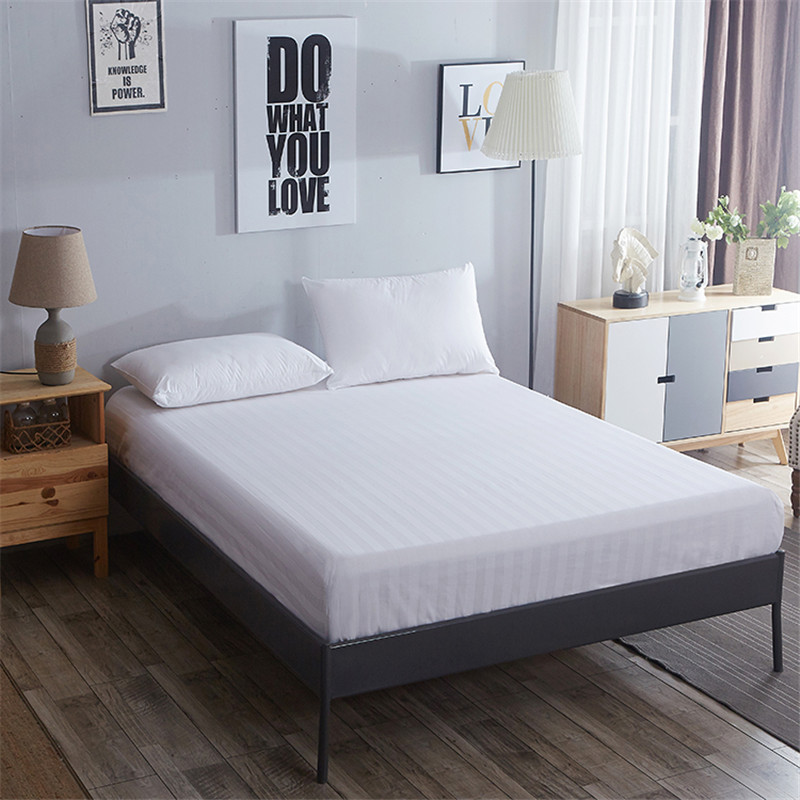 New Luxury Bedding Fitted Bed Sheet Mattress Protector Cover Bedding Covers Full Queen Size