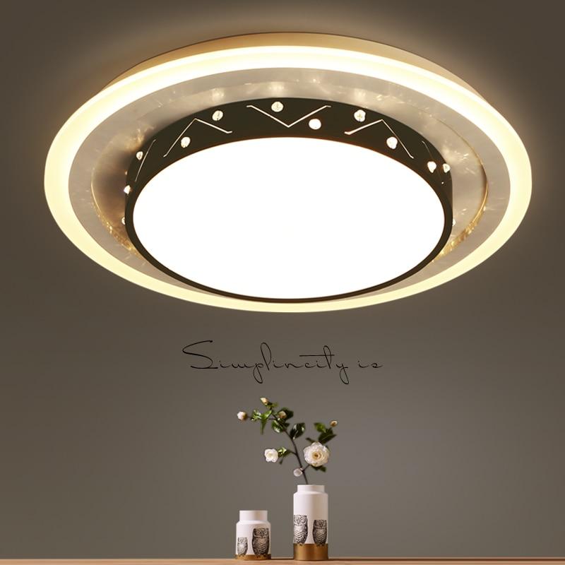 2017 Neue Slim Wichtigsten Schlafzimmer Lampe Led-deckenleuchte Moderne Minimalistische Kreisförmige Wohnung Wohnzimmer Deckenleuchten Zl429 Deckenleuchten & Lüfter Licht & Beleuchtung