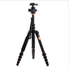 QZSD Professional Carbon Fiber Tripod & Monopod Q666C Pro For DSLR Camera / Portable Traveling Tripod Max Load 15kg  DHL Free