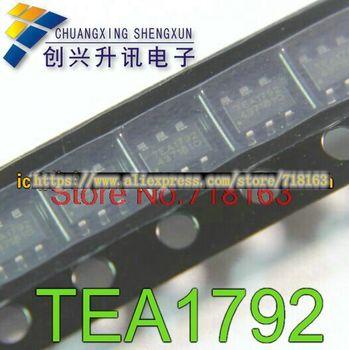 1pcs/lot TEA1792TS TEA1792 SOT23-6 In Stock 5 pieces lot mp1495dj sot23 8