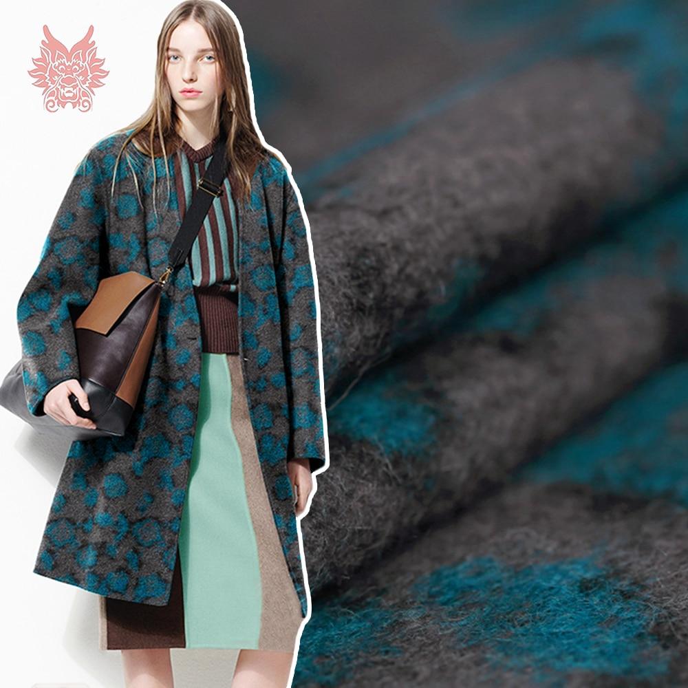 ୧ʕ ʔ୨Designer Américain style leopard stripe fils teints tissu de ... 46a261263cd0