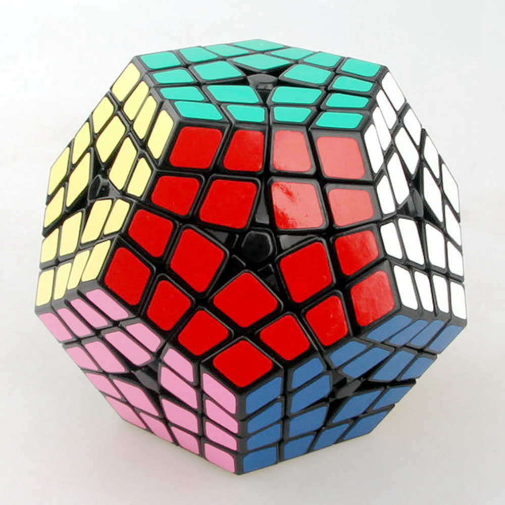 Shengshou Master Kilominx 4 Layer Magic Cube Speed ​​Puzzle Game - Teka-teki - Foto 1