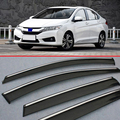 For Honda CITY 2015 2016 2017 Window Wind Deflector Visor Rain/Sun Guard Vent