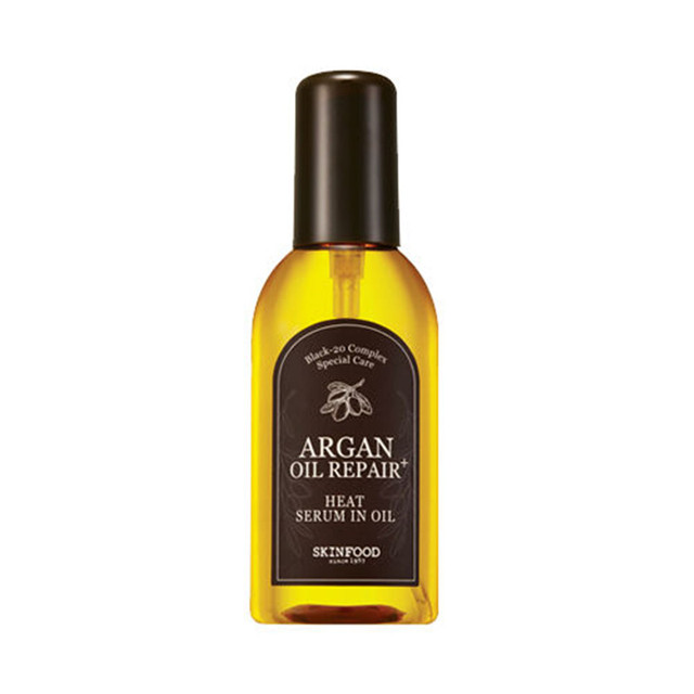 SKINFOOD Argan Oil Repair Plus Heat Serum in Oil 100ml Hair & Scalp Treatments Hair Care Products For Repair Hair