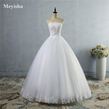 ZJ9061 Bridal Dresses White Ivory Strapless Beads Wedding Dress Lace edge Gown Custom Size 2 4 6 8 10 12 14 16 18 20 22 24 26 28