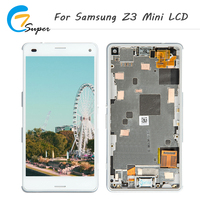 Hot Truth 1pcs Good Quailty For Sony Xperia Z3 Mini LCD Display D5803 D5833 M55W Touch