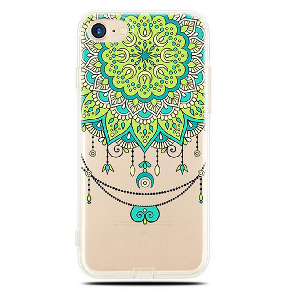 Datura-Flower-Pattern-Phone-Cases-for-iPhone-5-5S-SE-6-6S-7-Plus-Soft-Silicon (1) -