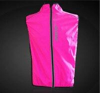 Бесплатная доставка 1 шт. Премиум на горных велосипедах велопробег жилет ветрозащитные непромокаемые свет езда на велосипеде одежда