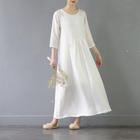 Solid Color Elegant Long Dress S221