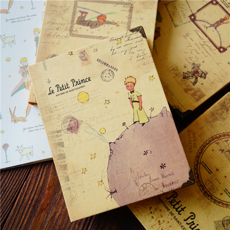 New Little Prince Planner Diary Schedule Monthly Plan Daily Record Full Color Printing Paper Boutique Gift