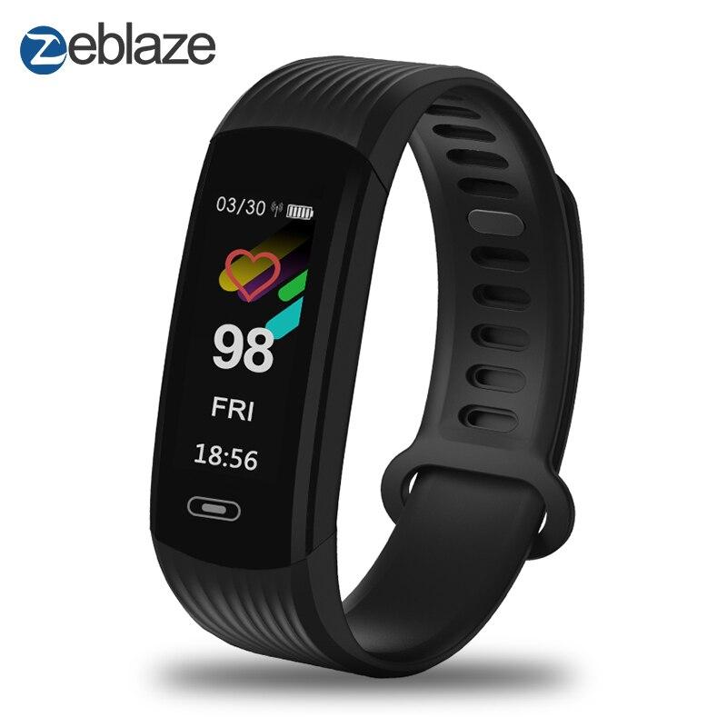 Zeblaze PLUG S Smart Bracelet 0.97 IPS Écran Couleur Continue Fréquence Cardiaque Santé Fitness Tracker Smart Bande Appel Rappel
