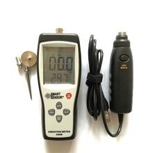 Digital Detached Probe Type Vibration Meter 0.1~199.9m/s Precision SmartSensor AS63B Measurer Tester Gauge Analyzer