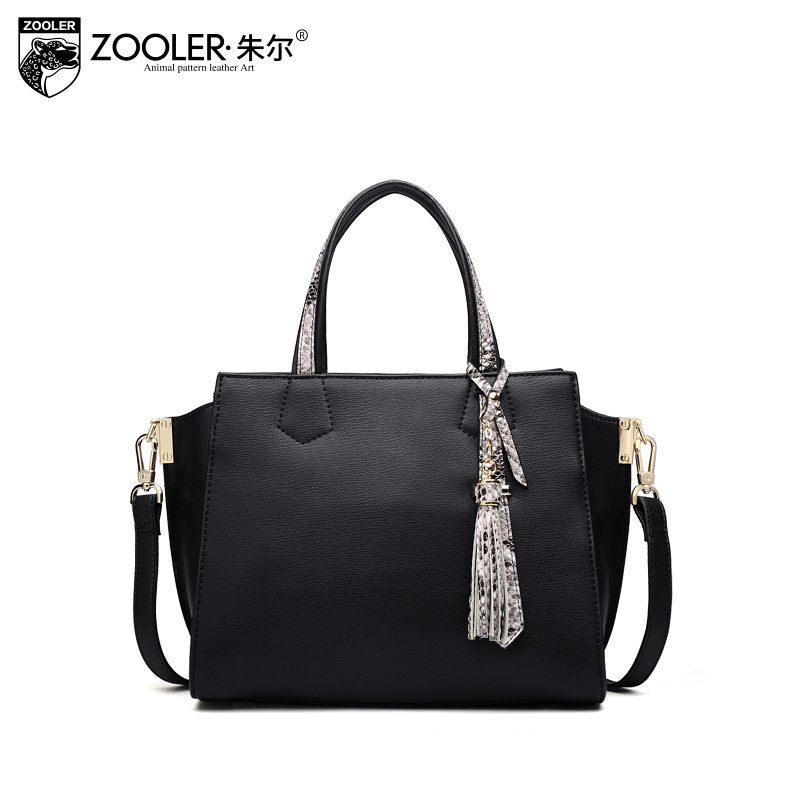 11-11 new &hot genuine leather tote ZOOLER 2017 real leather bags handbag women bag real limited in stock bolsa feminina #h125