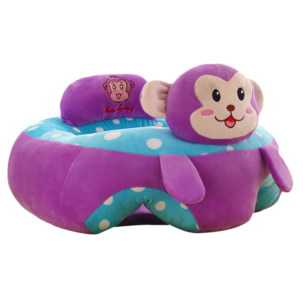 Baby Portable Learning Sitting Seat Infant Cartoon Chair Seat Children's Plush Toy Baby Sofa Hot Selling Children's Plush Toys