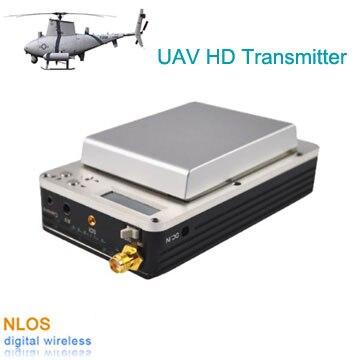 Professional UAV HD Video Transmitter, COFDM HDMI Wireless Video Transmitter, Low Delay UAV Video Link For Drones/UGV