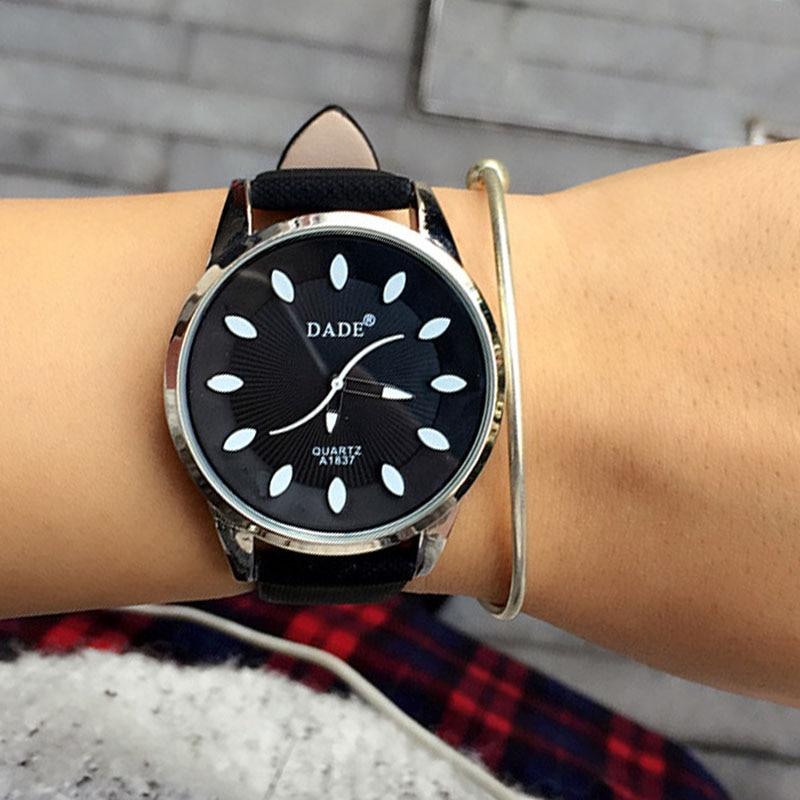 Classic 2018 New Fashion Prosty styl Top Famous Luxury marka zegarek - Zegarki damskie - Zdjęcie 3
