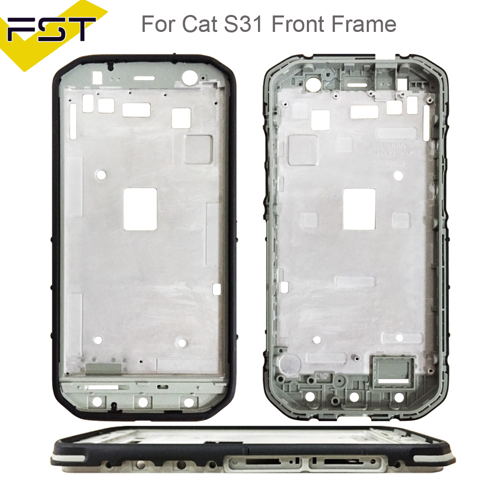 Us 1805 For Caterpillar Cat S31 S 31 Phone Front Frame Housing No Lcd Repair Parts For Caterpillar Cat S31 S 31 Front Frame In Mobile Phone Lcd