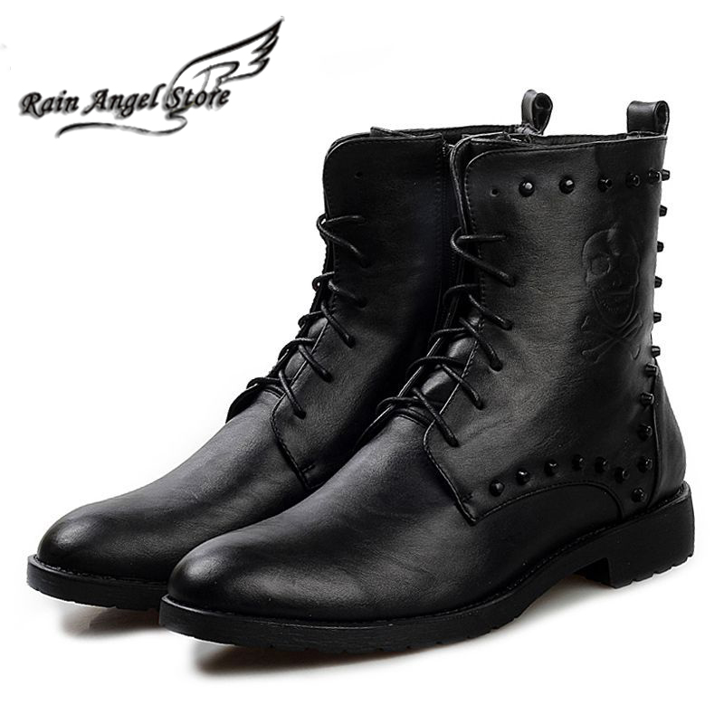 Compare Prices on Boots Black Mens- Online Shopping/Buy Low Price ...