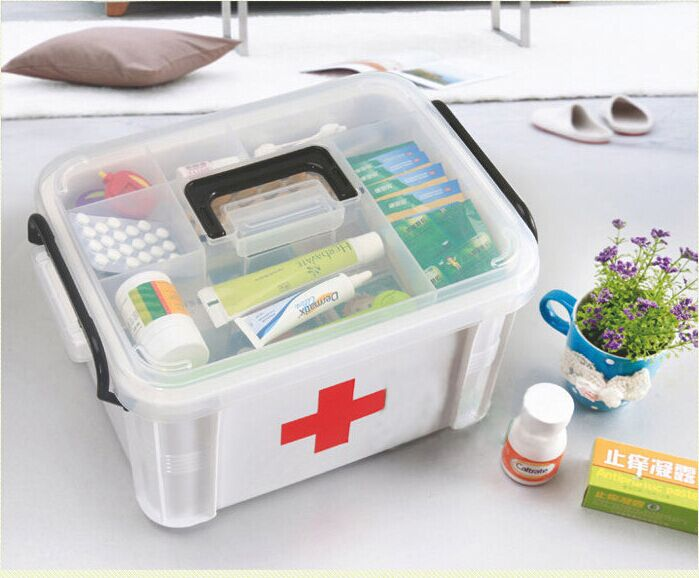 New Arrivals Household Medicine Storage Multi Purpose Storage Box First Aid Medical  Storage Box Health Care Large Capacity In Storage Boxes U0026 Bins From Home ...