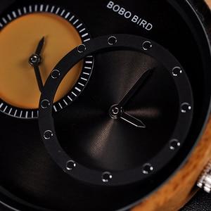 Image 3 - BOBO BIRD montre bracelet en bois plusieurs zones horaires, accessoire de luxe en bois, accessoire de mode, livraison directe