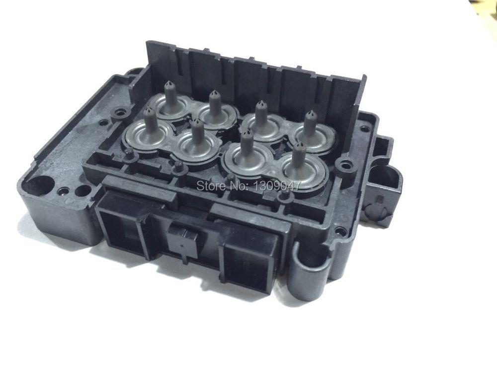 DX7 Печатающей Головки Печатающая Головка Растворителя DX7 головы многообразие Коллектор Адаптер F189010 печатающей головки растворителя адапт…