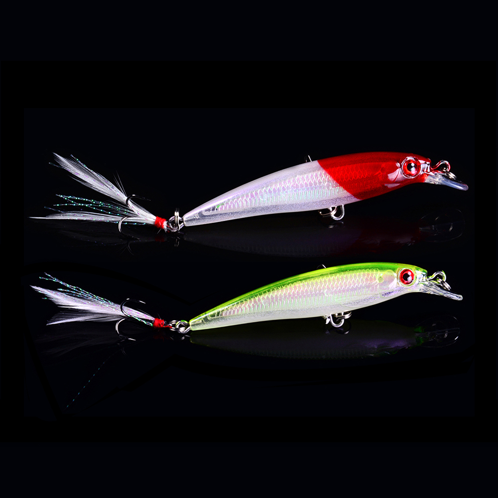 Balleo 7g/9cm Laser Minnow hard lure swimbait Fishing lure Fishing Wobbler carp trout Hard Fly Fishing for Pike carp fishing noeby floating minnow bass pike carp walleye trout plastic fishing wobbler hard baits swimbaits artificial lure set sea 10cm 12g