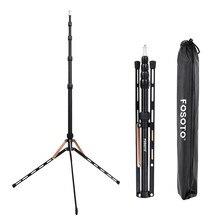 Fosoto FT 190B or lumière Led trépied support sac tête Softbox 2m pour Studio Photo éclairage photographique Flash parapluie réflecteur